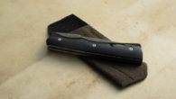 Icitte wootz et buffle noir - liner-lock