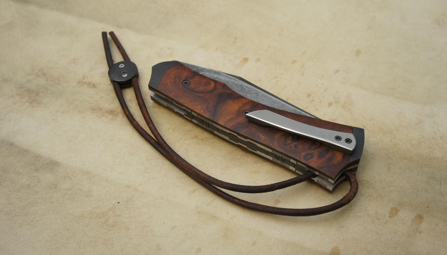 Tailleur 115w8 & loupe de bois de fer d'Arizona