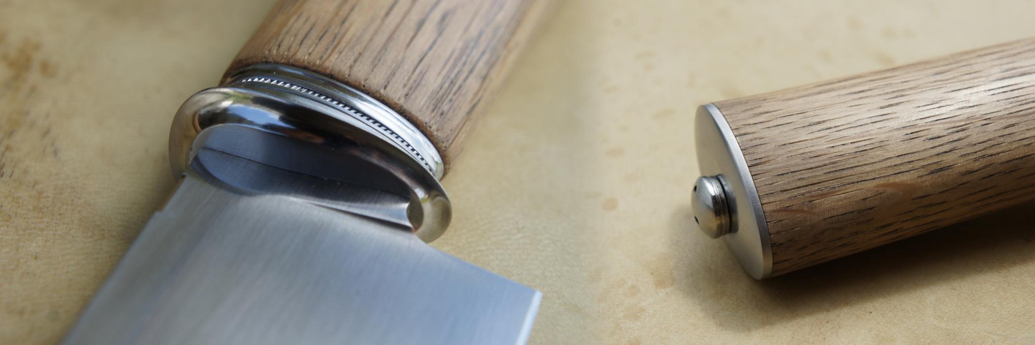 Couteau fixe - cuisine - macros