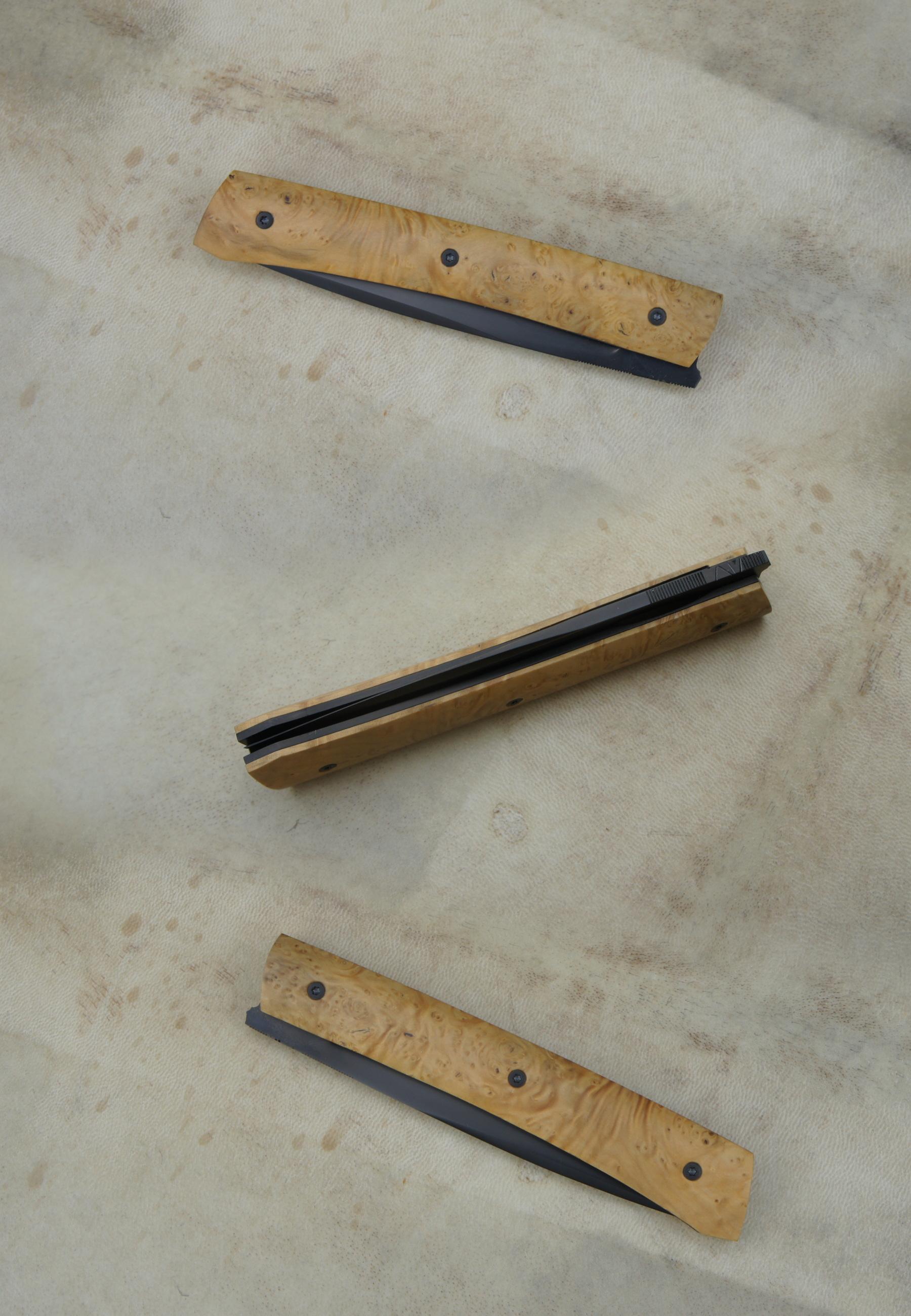 Reka 14c28n et loupe de buis stabilisée - BdB