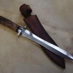 Dague – C130 et Noyer – étui